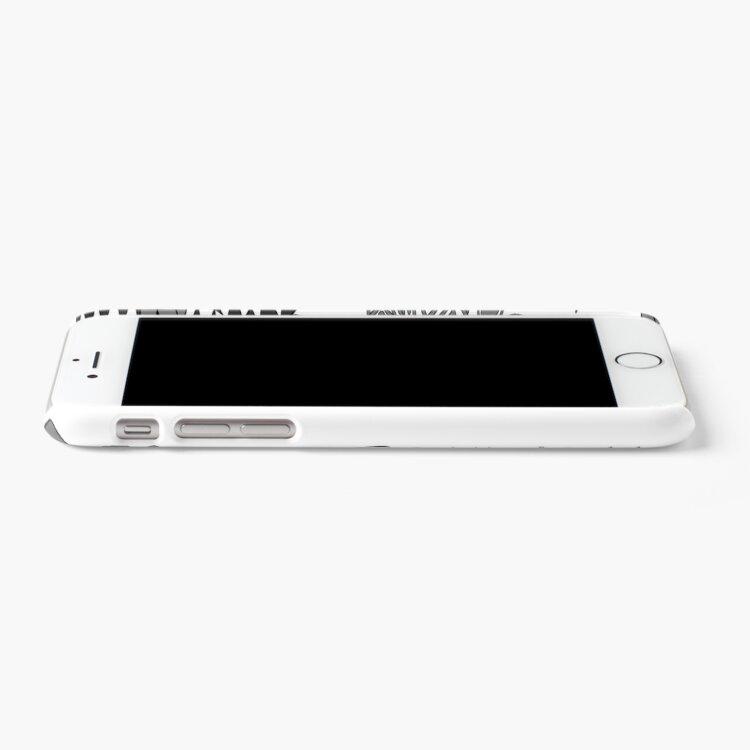 Alternate view of Freyja - Grey iPhone Case & Cover
