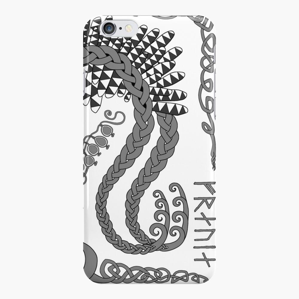 Freyja - Grey iPhone Case & Cover