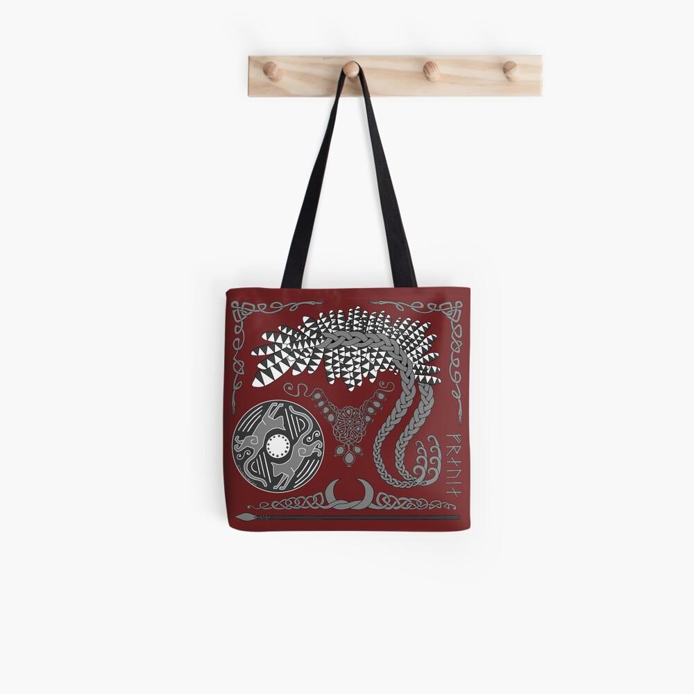 Freyja - Grey Tote Bag