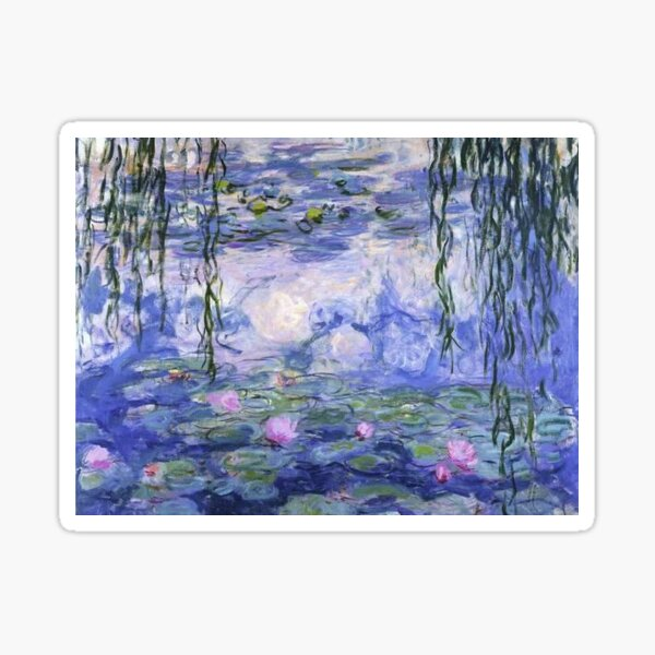 Nénuphars Monet Sticker