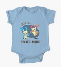 Cheer on PO-KE-MON! One Piece - Short Sleeve