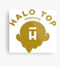 Halo Top Metal Print