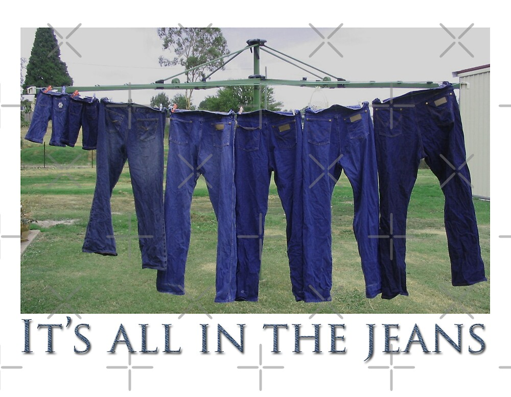 Its all in the jeans! by Deborah McGrath