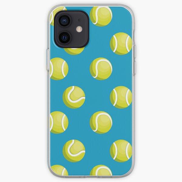 Patrón de pelotas de tenis Funda blanda para iPhone