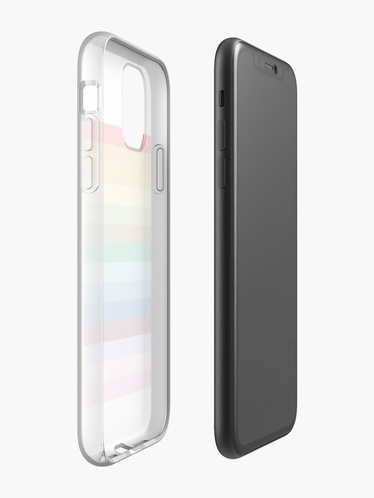 Coque iPhone «fierté rétro», par olivialu