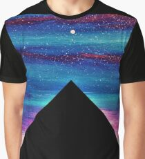 PYRAMIDS OF GIZA SPARKLY SILHOUETTE 2 Graphic T-Shirt