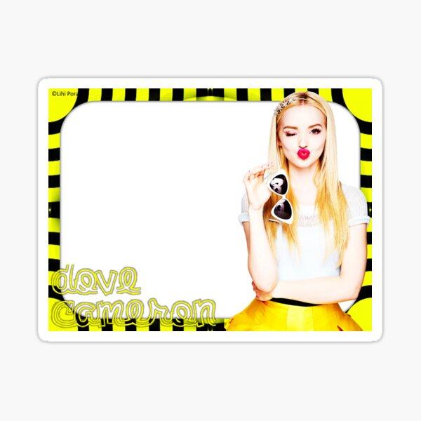Dove Cameron - Blank Label Sticker