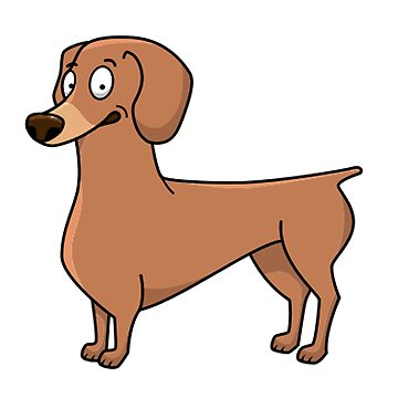 dachshund red cartoon second by marasdaughter