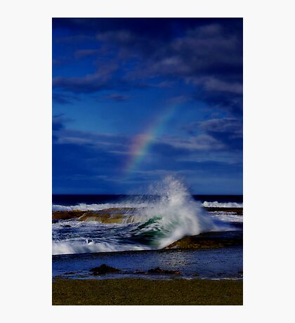 """Rainbow Break"" Photographic Print"