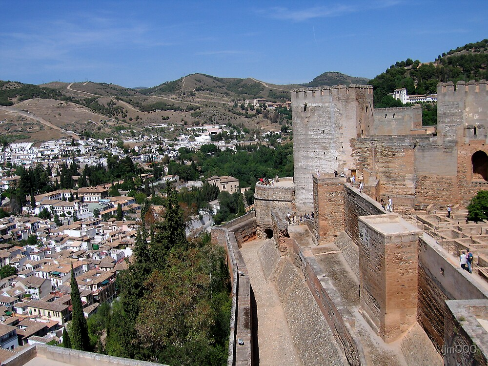 The Alhambra, Granada, Spain by ljm000