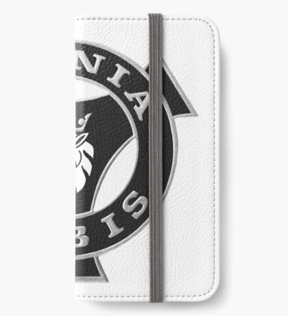 Scania Vabis emblem - b&w iPhone Wallet