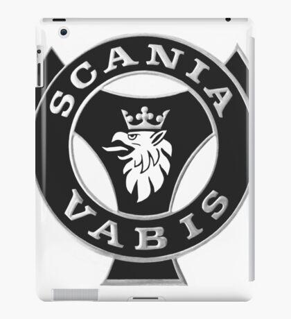 Scania Vabis emblem - b&w iPad Case/Skin
