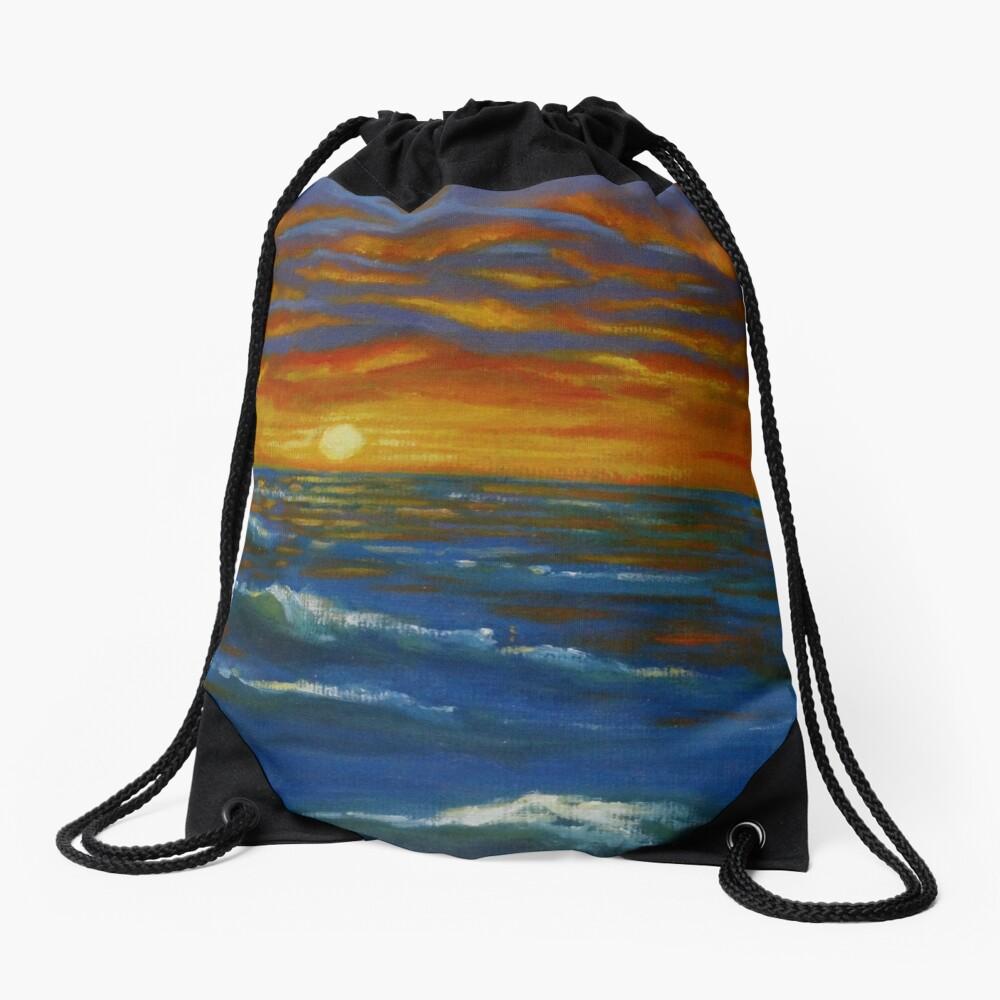 Sonnenuntergang Ozean Turnbeutel