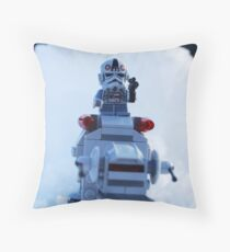 Battle Of Hoth Throw Pillow