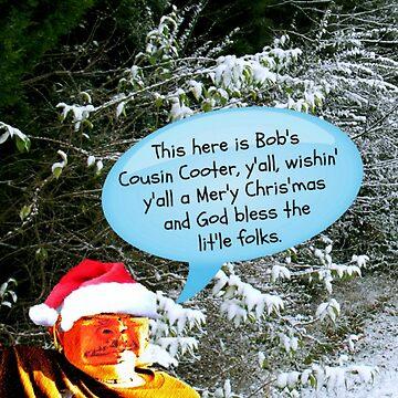 Bob's Official Redneck Christmas Card for 2018 by ArtbyBob
