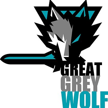 The Great Grey Wolf by JOHNITEES