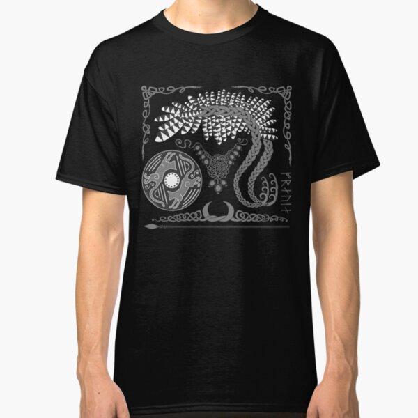 Freyja - Grey Classic T-Shirt