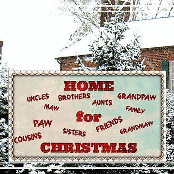 """""""Home for Christmas""""... Christmas Card by ArtbyBob"""