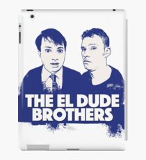The El Dude Brothers Tribute Artwork iPad Case/Skin