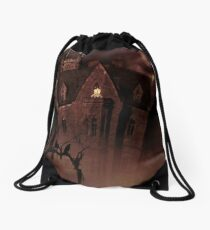 House In The Hollow Drawstring Bag
