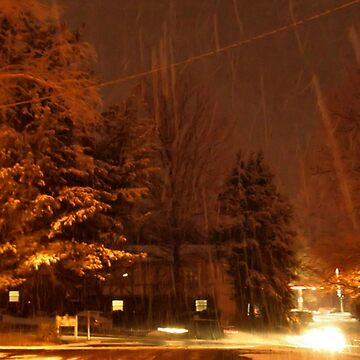 """""""A Snowy Evening in Knoxville"""" (no.9, from this series)... products by ArtbyBob"""