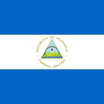 Nicaragua - National Flag - Current by CrankyOldDude