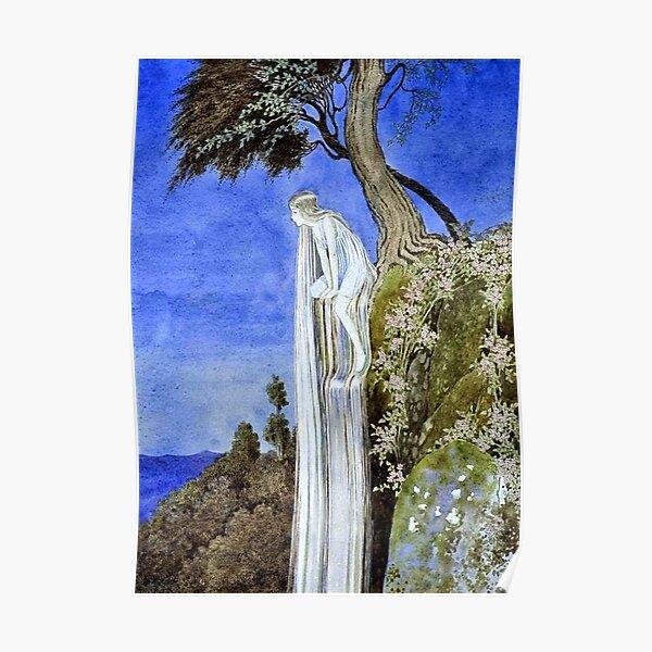 The Waterfall Fairy - Ida Rentoul Outhwaite Poster