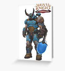 Shovel Knight Eternal Greeting Card