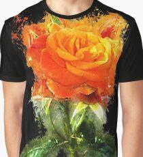 Nature rose glowing Art Graphic T-Shirt
