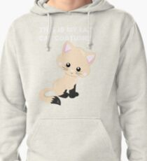 This is my lazy cat costume2 Pullover Hoodie
