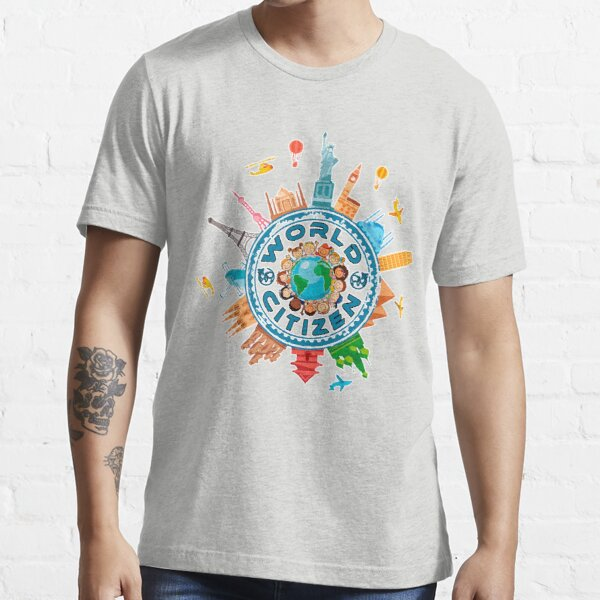 World word Citizen T-shirts Essential T-Shirt