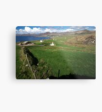 Allihies Countryside Metal Print