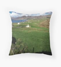 Allihies Countryside Throw Pillow