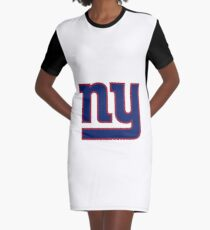 New york- Giants  Graphic T-Shirt Dress