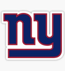 New york- Giants  Sticker