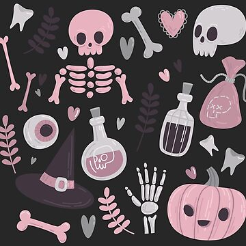 Pretty Pink Halloween by ninthstreet