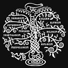 The World Tree - Yggdrasil by S. Camille Crawford