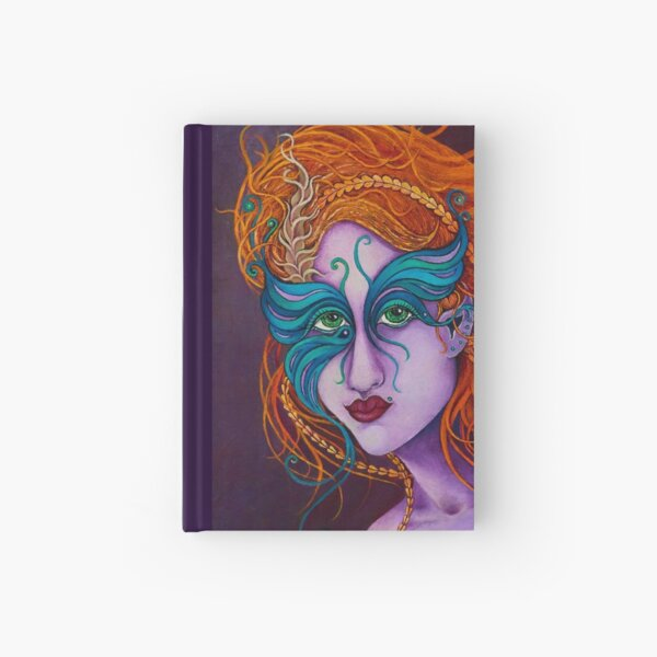 Butterfly Goddess Hardcover Journal