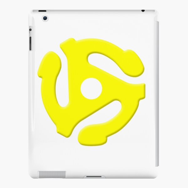 45 RPM Adapter Vinyl iPad Snap Case