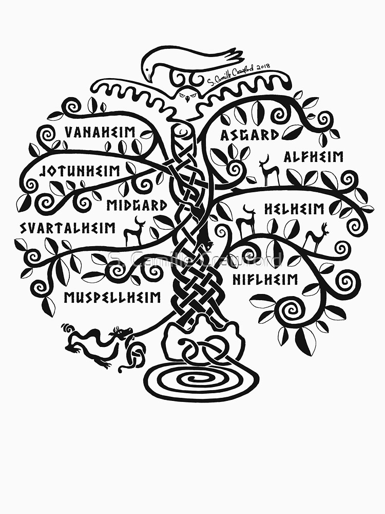 The World Tree - Yggdrasil by CorpseCafe