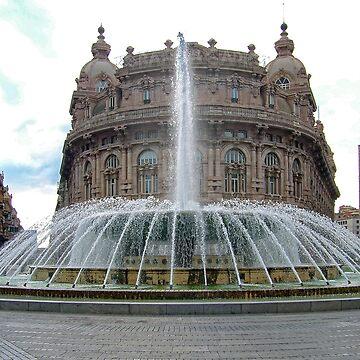 Piazza De Ferrari by tomg