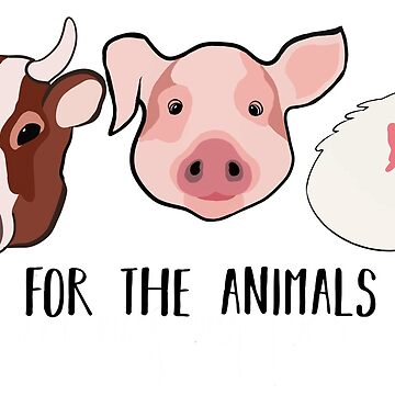 Vegan For the Animals by Herbivorous
