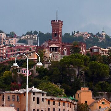 Genoa skyline by tomg