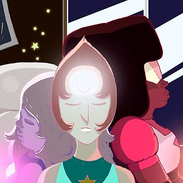 Crystal Gems - Together in Steven's Room by ancuribe