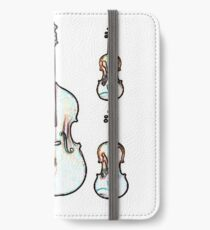 The Four Strings - Violin, Viola, Cello, Bass iPhone Wallet/Case/Skin