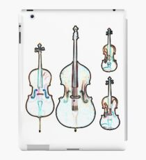 The Four Strings - Violin, Viola, Cello, Bass iPad Case/Skin