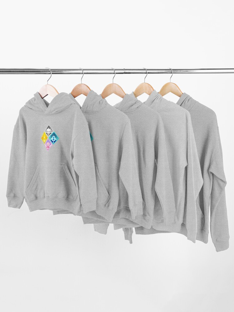 Alternate view of The Great Diamond Authority  Kids Pullover Hoodie