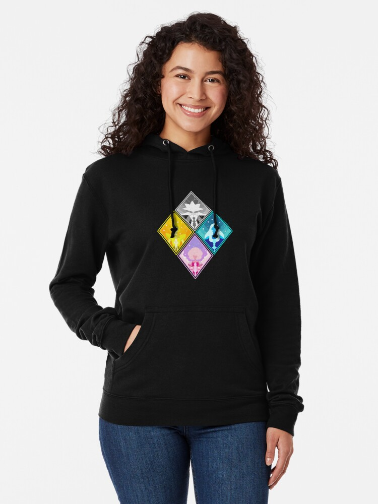 Alternate view of The Great Diamond Authority  Lightweight Hoodie