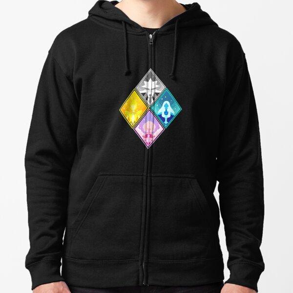 The Great Diamond Authority  Zipped Hoodie