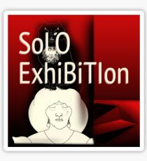 Solo-Exhibition avatar Sticker